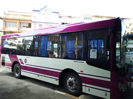 Chiang Rai city bus