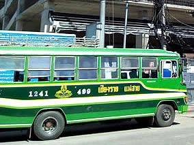green bus line